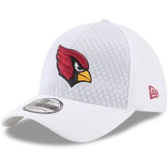 the best attitude 2f836 9f2b2 Arizona Cardinals New Era NFL Kickoff 39THIRTY Flex Hat - White   ArizonaCardinals
