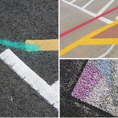 Road markings Flickr group.