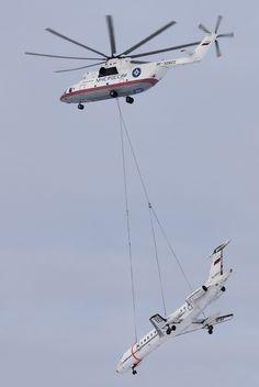 Continue reading «IMAGENS: Mi-26, o maior helicóptero do mundo!»