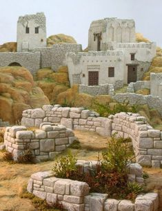 Scenographies for the Bethlehem - Oscar Wallin Christmas Settings, Christmas Decorations, Journey To Bethlehem, Medieval Houses, Christmas Nativity Scene, Free To Use Images, Historical Architecture, Simple Christmas, Christmas Inspiration