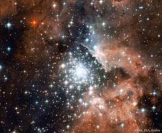 Cúmulo de estallido estelar NGC 3603 | Imagen astronomía diaria - Observatorio