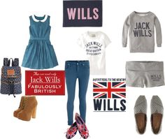 """""""jack wills"""" by hbrittney on Polyvore"""