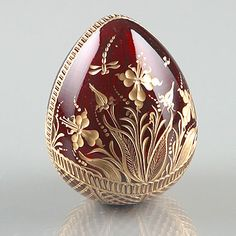 Faberge Crystal Egg by The Russian