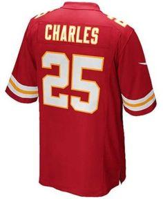 Nike Kids  Jamaal Charles Kansas City Chiefs Game Jersey a99ddbf2f