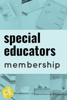 A special education membership site created just for you! Find expert resources, support, and respect in a caring community. Get ready for your best year EVER! #specialeducation #resourceroom