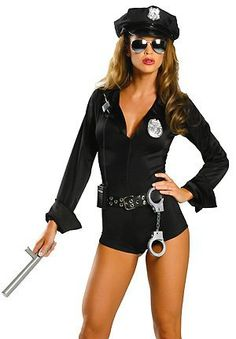 Sexy cop costume 7pc sexy cop costume cop costume and costumes my way patrol womens sexy police costume lingerie outfit solutioingenieria Images