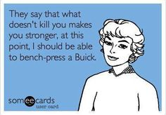 Bench press a Buick