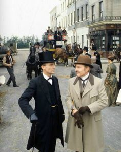 The Adventures of Sherlock Holmes, Granada TV, 1984-85. Starring Jeremy Brett as…