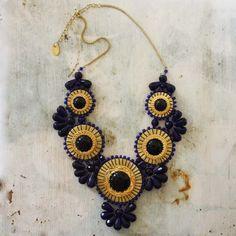 Bohemian Romance Necklace in Twilight, Women's Sweet Bohemian Jewelry