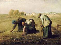 JEAN-FRANÇOIS MILLET. Las espigadoras. 1857.
