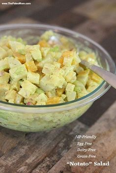 AIP Notato Salad | The Paleo Mom