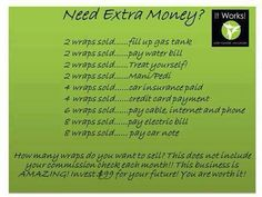 I too was a non believer... Just got my first commission check! I believe! It Works Nevaeh2007.myitworks.com 915 929-9570