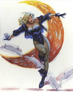 Black Canary Comic, Arrow Black Canary, Comic Book Artists, Comic Artist, Comic Books Art, Dinah Laurel Lance, Dc Comics Art, Comics Universe, Vintage Comics