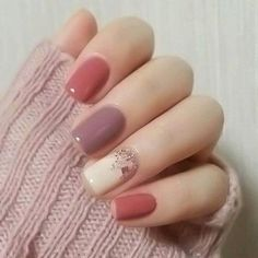 42 Popular Nail Color Ideas For Spring Trend 2018 - Fashionmoe #SummerNails