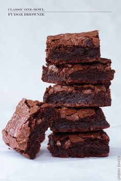 Yesterday you saw my deliciously boozy Baileys Irish Cream Brownie Chocolatini. Today, you'll see (part 2 of 3) the homemadebrownies I made for it.It's of my very own tried and true recipe.On...