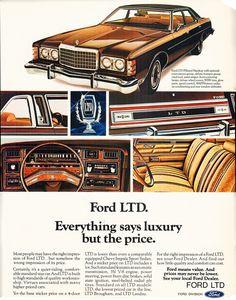 1975 Ford ,#LTD,Ad,#PRINT,#PUBLICITY...