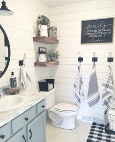 Diy bathroom makeover - 50 Amazing Christmas Bathroom Decorations That Will Amaze You – Diy bathroom makeover Decoration Inspiration, Bathroom Inspiration, Decor Ideas, Diy Ideas, Decorating Ideas, Design Inspiration, Upstairs Bathrooms, Master Bathroom, Guest Bathrooms