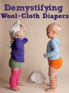Demystifying Wool Covers and Cloth Diapers: Sweetbottoms Baby Boutique Blog on why wool is a great option and cleaning how-tos