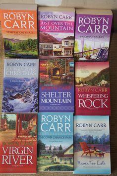 12 Robyn Carr books / Robyn Carr novels by TheKindLady on Etsy