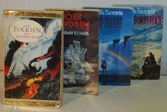 4 x CLASSIC Fantasy/Sci Fi Novels. TOLKIEN, WYNDHAM, EISENSTEIN Sci Fi Novels, Science Fiction Books, Tolkien, Culture, Fantasy, Classic, Ebay, Art, Derby