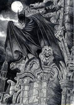 Batman by David Hitchcock