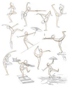 Pose Sketch / Drawings …