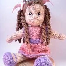 Resultado de imagen de pinterest patrones gratis español muñecas crochet y punto dos agujas