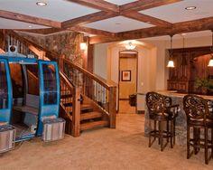 basements on pinterest basement bars finished basements and rec