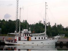 Germany Long range steel motorsailer trawler Click to launch Larger Image