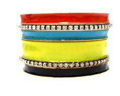 2014 Brasil World Cup Wrist Fashion Female Rhinestone Bracelets and Bangles for Barcelona Team Fans. Lasted Designed Fashion Set $5.00