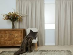 Portofino Natural Ready Made Curtains Pleated Curtains, Blackout Curtains, Curtain Headings, Types Of Curtains, Need Sleep, Pencil Pleat, Ceiling Height, Flooring, Bedroom