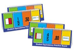 Student Equivalency Practice Boards - Set of 4