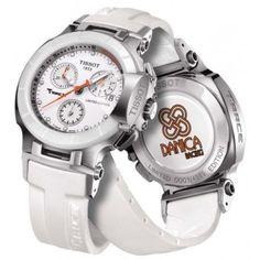 Tissot T0482172701600 T-Race Women's Danica Patrick 2012 Limited Edition Quartz Sport Watch.FREE shipping+2 years warranty+20% discount at http://feeldiamonds.com