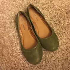 lucky brand flats only worn once. great condition Lucky Brand Shoes Flats & Loafers