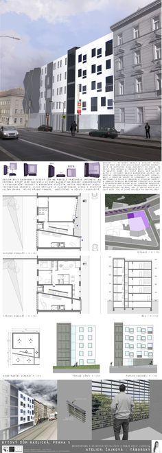 Studentský projekt. LS 2013/2014. FSv ČVUT v Praze. Praha, Floor Plans, Diagram, Floor Plan Drawing, House Floor Plans