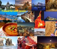 I want to visit Spain.