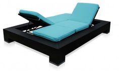 What a great chair to layout on with a good friend! We need this by the pool mom!!!