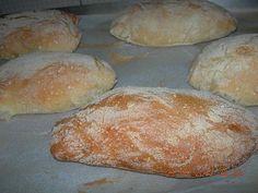 ψωμάκια τσιαπάτας ή πανίνι!
