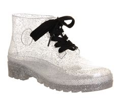 JuJu Juju Jelly Boot Mega Glitter - Ankle Boots