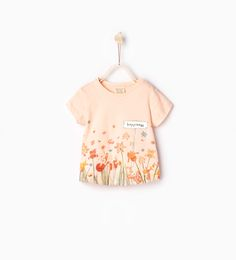 ZARA - KIDS - T-shirt with shiny print