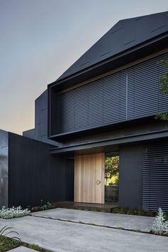 New Zealand Architecture, Residential Architecture, Contemporary Architecture, Interior Architecture, Big Windows, Brickwork, Cladding, Deco, New Homes