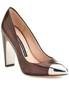 """Some of you have to get in on this: French Connection """"Jolynn"""" Leather Pump"""