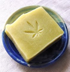 Hemp Seed Oil Soap with Organic Cocoa Butter and essential oils of Lavender, Patchouli and Peppermint - Vegan Soap