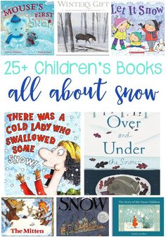 25  Snow Books For K