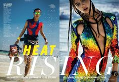 'Heat Rising' Katja Krivorota by Enrique Badulescu for Marie Claire May 2014 [Editorial] - Fashion Copious