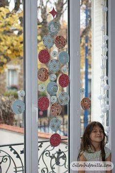 pour décorer les vitres quand il y aura les échaffaudages