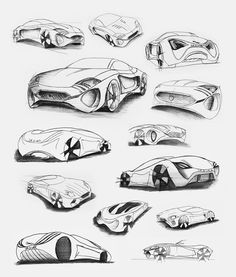 Jaguar XKX: Concept Car: Sketches