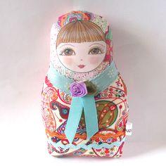 Matryoshka Doll Olga - Small size. $26.00, via Etsy.