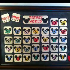 Count Down to Disney World