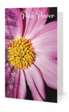 Pink Power Inspirational Greeting Card